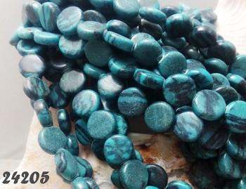 Tyrkysové lentilky přírodní minerál, bal. 10ks