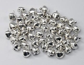 Rolničky Stříbrné 11mm,  balení 10ks