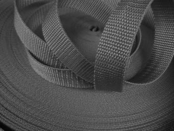 ŠEDÝ popruh polypropylénový šíře 25mm PP popruh 2,5cm