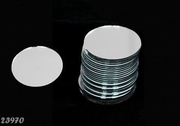 Zrcátko k dozdobení 80mm DIY zrcátko 8cm