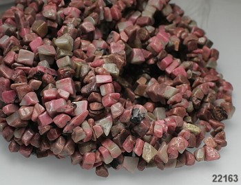 Růžový Rhodonit zlomky přírodní minerál , bal. 10cm