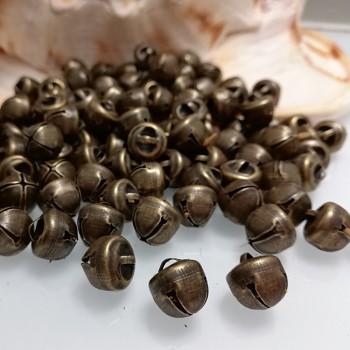 Rolničky Bronzové 10mm,  balení 10ks