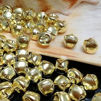 Rolničky Zlaté 10mm,  balení 10ks  (kopie)