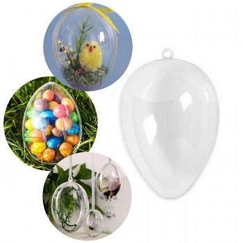 Baňka velikonoční vajíčko k dekoraci, 1ks