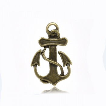 Vintage přívěšek bronzový KOTVA  bal. 2ks