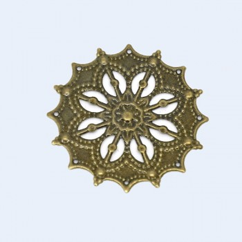 Filigránový komponent mezidíl bronz 45mm, bal. 2ks