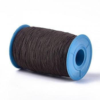 HNĚDÁ guma kulatá tenká pruženka elastická, á 1m