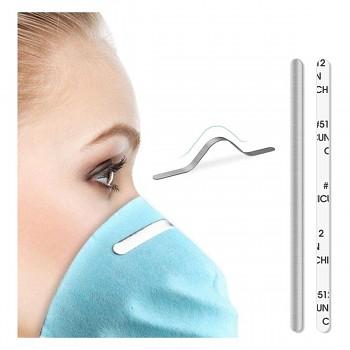Podložky  drátky na šití roušek /tvarování na nose/